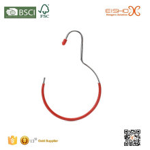 EISHO PVC Coating Metal Hanger For Scarf