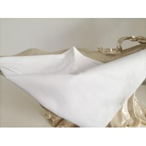 White Cotton Dobby Momie Napkin