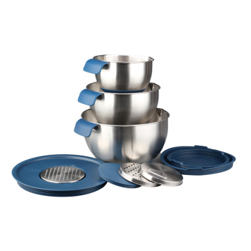 Mixing Bowl Set With Lids for Kitchen Utensils