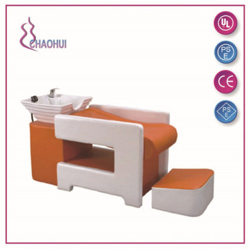 China Professional Supplier for China Shampoo Chair, Portable Shampoo Chair, Electric Shampoo Chair manufacturer Hair washing salon shampoo chair supply to Japan Factories
