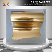 Gold Metallized Wire Drawing PET Film