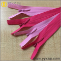 Various Color Custom Beautiful Nylon Invisible zipper