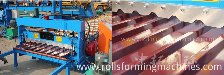 Trapezoidal metal sheet forming machine ZT25-200-1000 ZT25-200-1000 06
