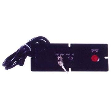 PB246 Black Inspection Box , Elevator Component Parts