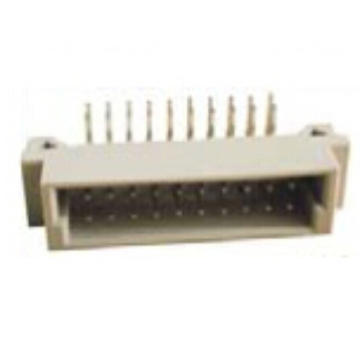 Right Angle Plug Type 44 Positions DIN41612 Connector