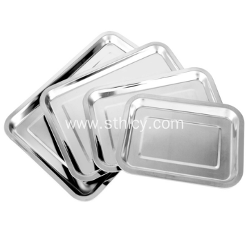 304 High Quality Stainless Steel Baking Tray