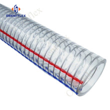 food grade pvc spiral steel wire hose