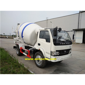 500 Gallon 4.5T Concrete Mixer Transport Trucks