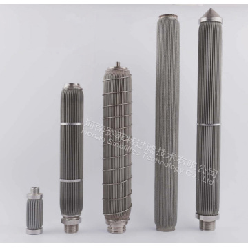 316L Stainless Steel Pleated  Filter Cartridges