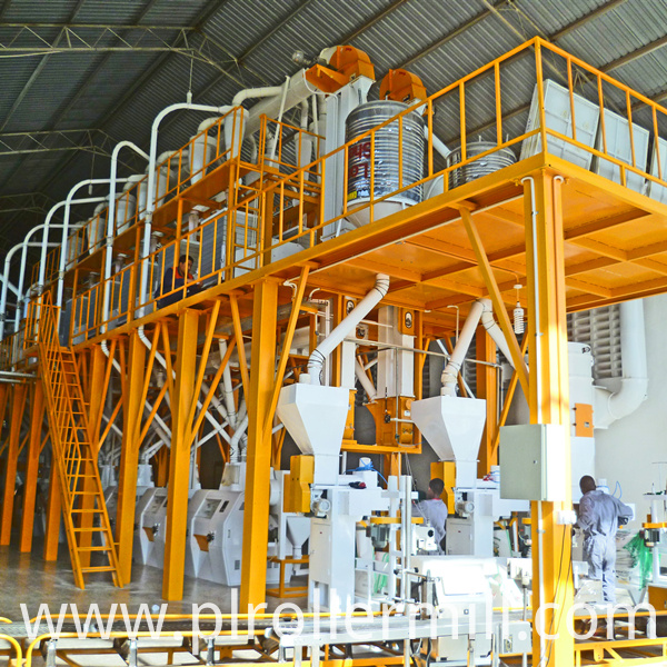 Tanzania 100T Maize Flour Mill