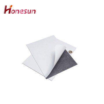 Large Flexible Magnetic Rubber Sheet With Adhesive