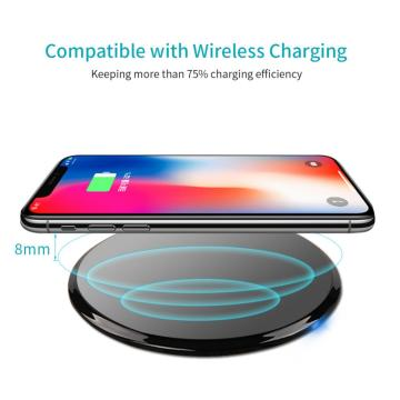 New Arrival China for Ultra-Slim Wireless 10W Charger Wireless QI Fast Charging Pad Stand supply to Jamaica Factory