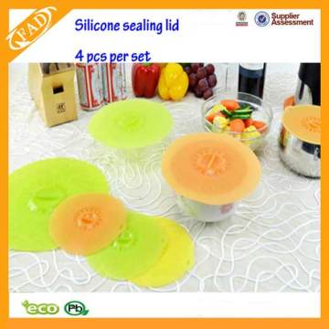 Best Price for for Silicone Lid Set Silicone Suction Lids Food Saver Covers For Bowls supply to Vanuatu Exporter