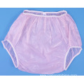 Plastic Adult Baby Diaper Pants