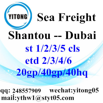 Shantou Logistics Services to Dubai