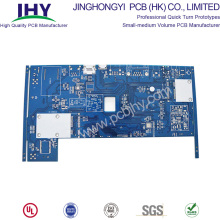China for Rigid PCB,Fr4 PCB,Rigid Circuit Board Manufacturers and Suppliers in China Blue HASL LF 1oz 4 Layer Rigid PCB export to Italy Suppliers