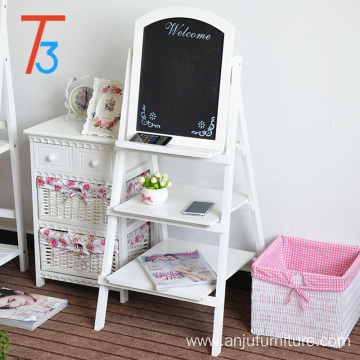 Factory Price for Flower Shelf display shelf blackboard wood rack flower holder supply to Anguilla Wholesale