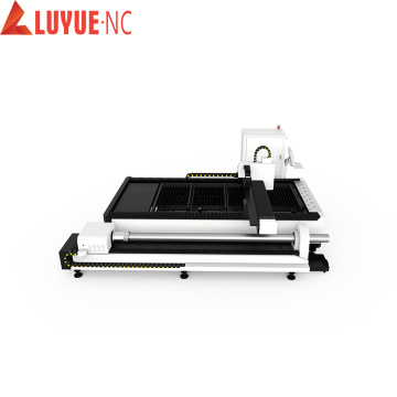 High Speed Exchange Platform Fiber Laser Cutting Machine
