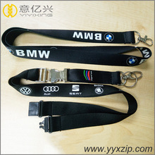personalized logo brand neck lanyards with id card