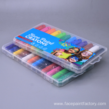 Body Painting Set Non-Toxic Color Sticks