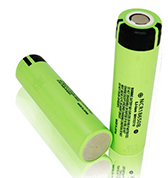 reading flashlight Lithium Ion Rechargeable 18650 battery