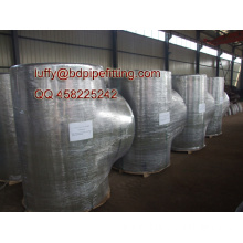 Large size pipe fitting elbow factory
