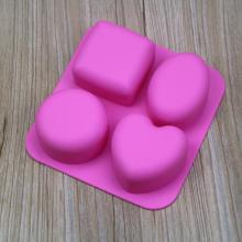 small silicone loaf molds for soap making