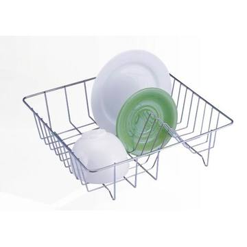 Chrome Cup And Plate Basket