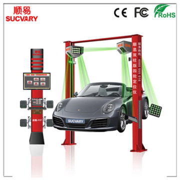 Leading for 5D Wheel Alignment For Two-Post Lift Sucvary Automotive Tool Wheel Alignment Machine supply to China Taiwan Importers