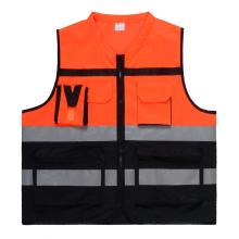 Goods high definition for Multi Pocket Safety Vest,Safety Vest With Pockets,Reflective Workwear Manufacturers and Suppliers in China Hot selling multi-fuctional tricot safety vest supply to Cape Verde Supplier
