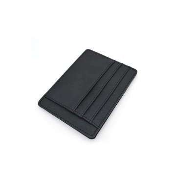 Custom Color Saffiano Leather Slim Credit CardHolder