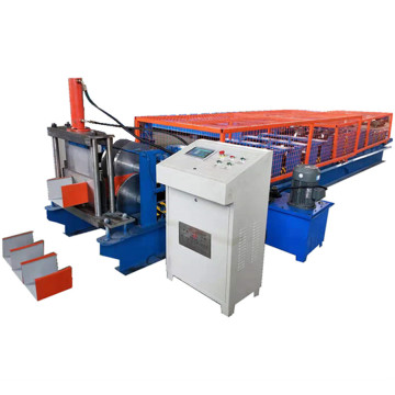 Hydraulic Cutting C Shape Purlin Roll Forming Machine
