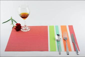 Stripe series of household business dining mat decoration9