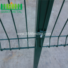 Powder Coated Triangle Curved Metal Fencing