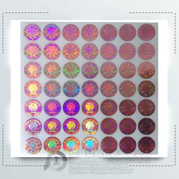 Top Quality Anti-fake Label Hologram Sticker for Packing