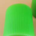 Green Color Pillar Candle with Fluted Candles