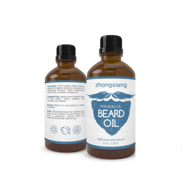 Private Label Fragrance Free Smoothing Beard Oil