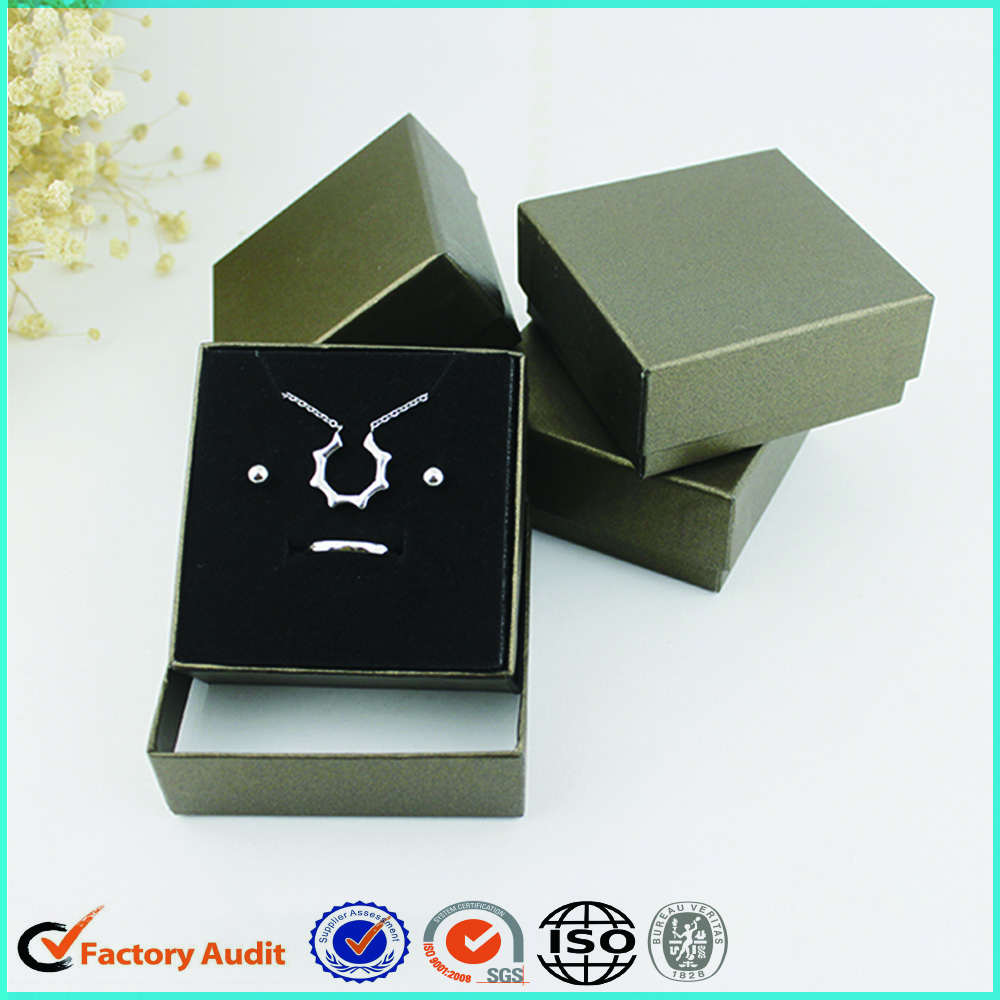 Fancy Black Gift Box For Ring