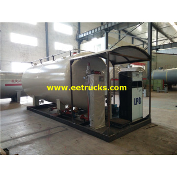 10tons Skid LPG Filling Plants