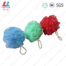 Single mesh absorb bath ball
