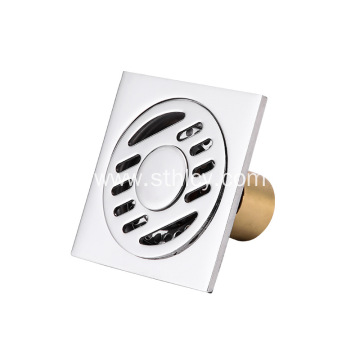 Square Stainless Steel Bathroom Floor Drain