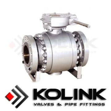 Supply for Trunnion Ball Valve Forged Steel Trunnion mounted Ball Valve supply to Cape Verde Exporter