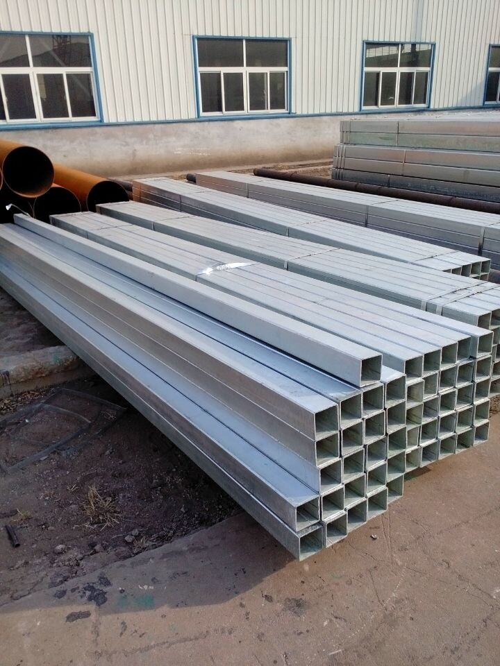 steel square tubing galvanized