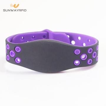 2018 New Design LF/HF/UHF Color RFID Bracelet