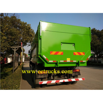 SINOTRUK 10 Wheel Docking Garbage Trucks