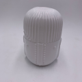 Wholesale glass white buddish candy jar with lid