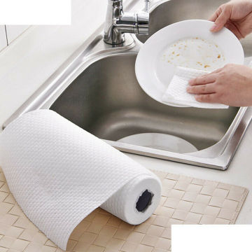 Disposable Nonwoven Fabric Spunlace Rolls Wipes for Kitchen