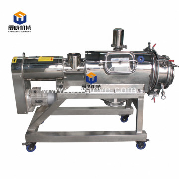 automatic centrifugal sifter for small particles