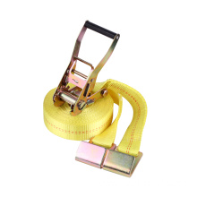 High Quality for Cargo Securing Strap Yellow Smart Ratchet Tie Down Long Handle Double Security supply to Yugoslavia Importers