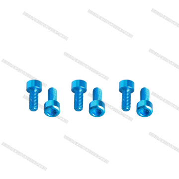 M3x10mm 7075 Aluminium Alloy Socket Hex Head Screw